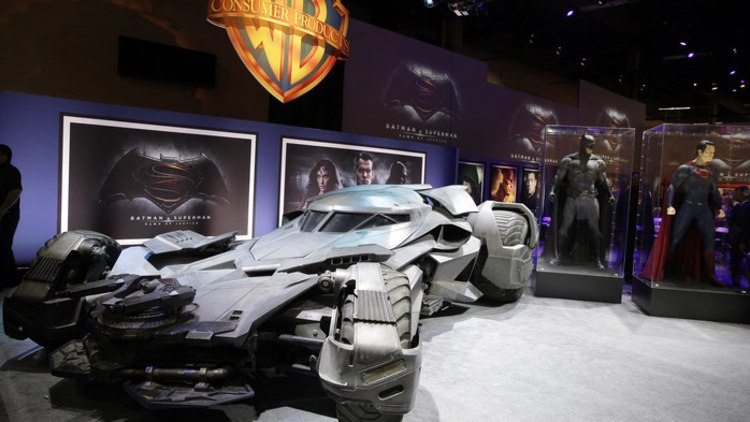 batmobile front three quarters view
