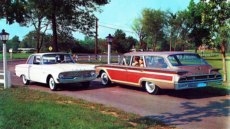 1960 Ford Country Squire wagon