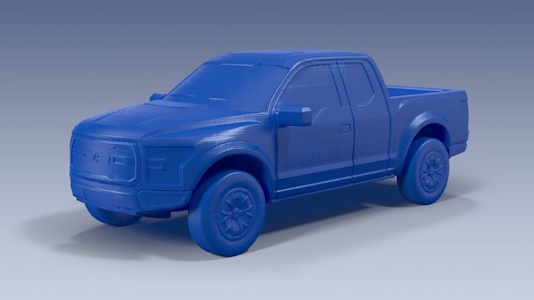 3D printed Ford F-150