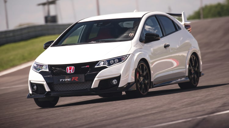 2015 honda civic type r first drive w video autoblog. Black Bedroom Furniture Sets. Home Design Ideas