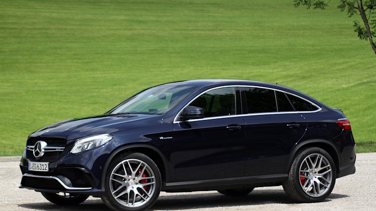 2016 Mercedes-Benz GLE Coupe front 3/4 view