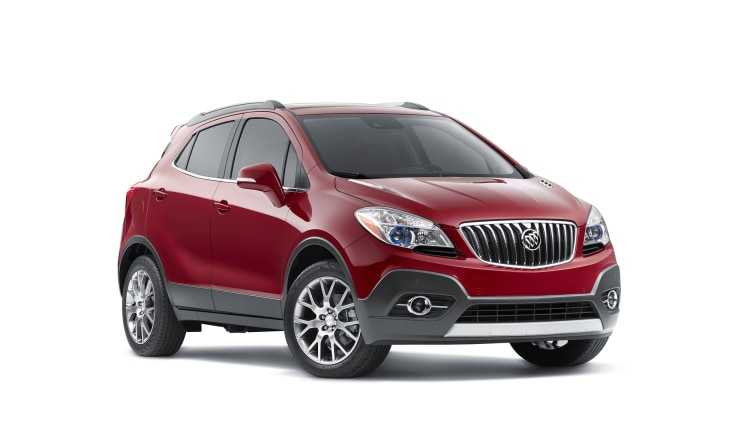 2016 Buick Encore Sport Touring front 3/4