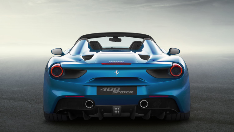 ferrari rear spider 488 gtb convertible taillights