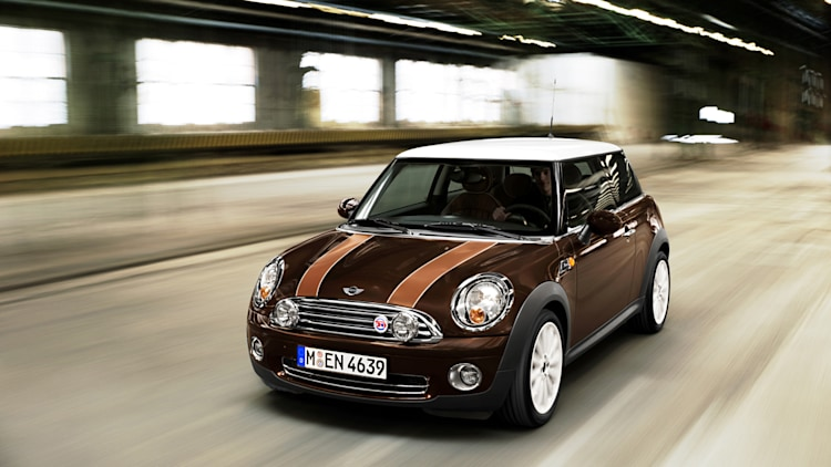 Mini hardtop in brown