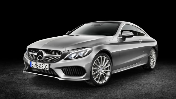 MercedesBenz CClass Coupe looks just as banging as big brother