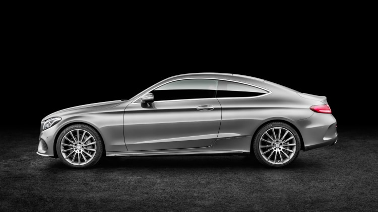 2017 MercedesBenz CClass Coupe Photo Gallery  Autoblog