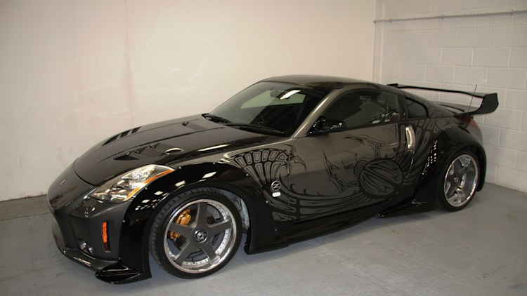 fast furious nissan 350z offered for big money autoblog. Black Bedroom Furniture Sets. Home Design Ideas
