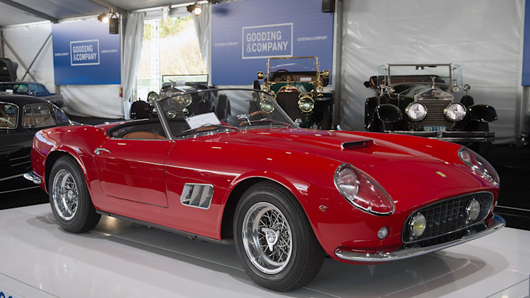 Goodings Pebble Beach auction tops 128 million in sales  Autoblog