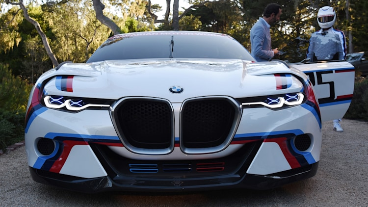 BMW 3.0 CSL Hommage R is ready for racing at Pebble Beach - Autoblog