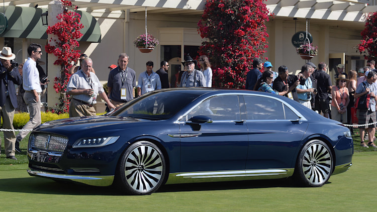 Lincoln Continental Concept *IS* at Pebble Beach Concours!! - Ford ...