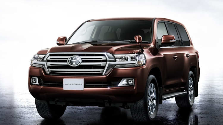 2016 Toyota Land Cruiser 200 (JDM)