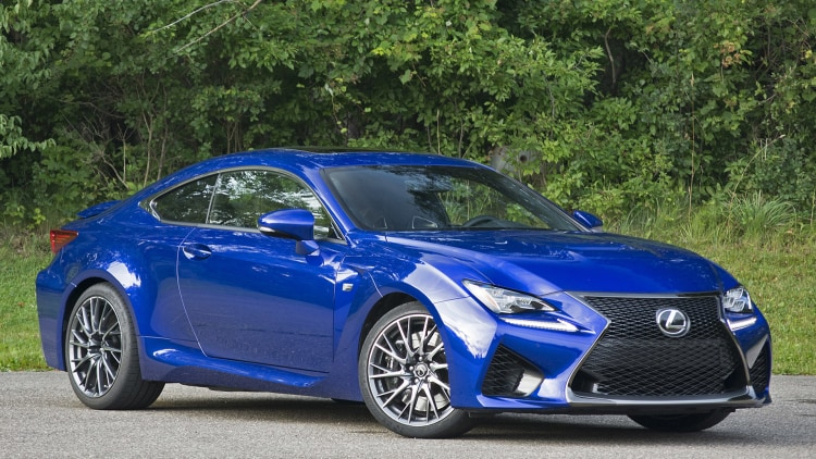 2015 lexus rc f review autoblog. Black Bedroom Furniture Sets. Home Design Ideas