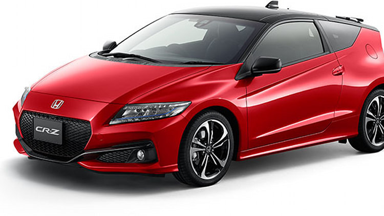 2016 honda cr-z refresh front