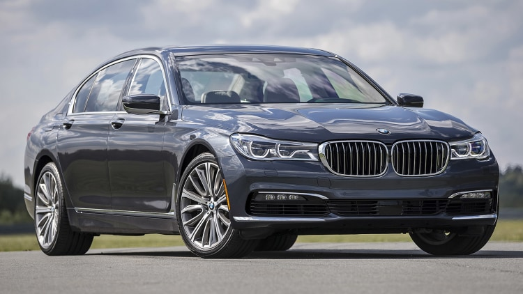 Image result for new BMW 7 Series 2016 Space Grey