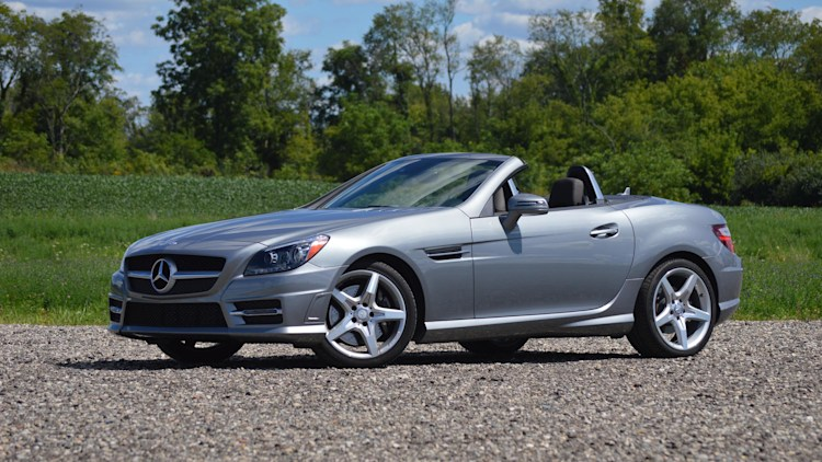 2015 mercedes benz slk250 quick spin w video autoblog. Black Bedroom Furniture Sets. Home Design Ideas
