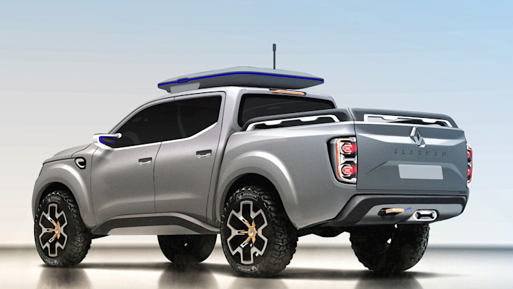 renault previews new pickup with alaskan concept autoblog. Black Bedroom Furniture Sets. Home Design Ideas