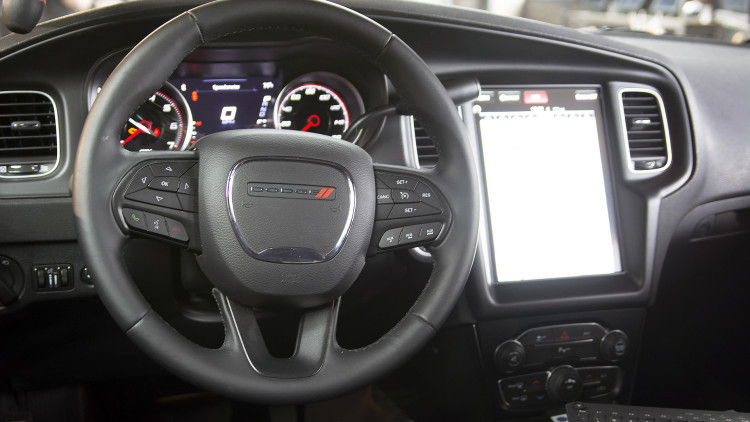 dodge charger pursuit takes tesla interior approach autoblog. Cars Review. Best American Auto & Cars Review