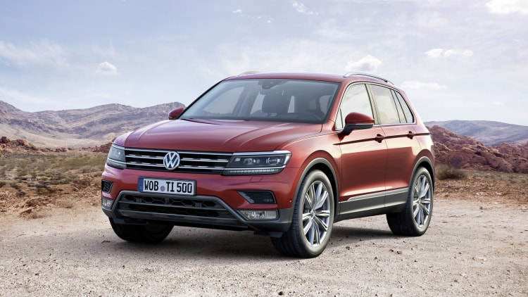 Vw Tiguan Grows Up Gets Bigger Autoblog