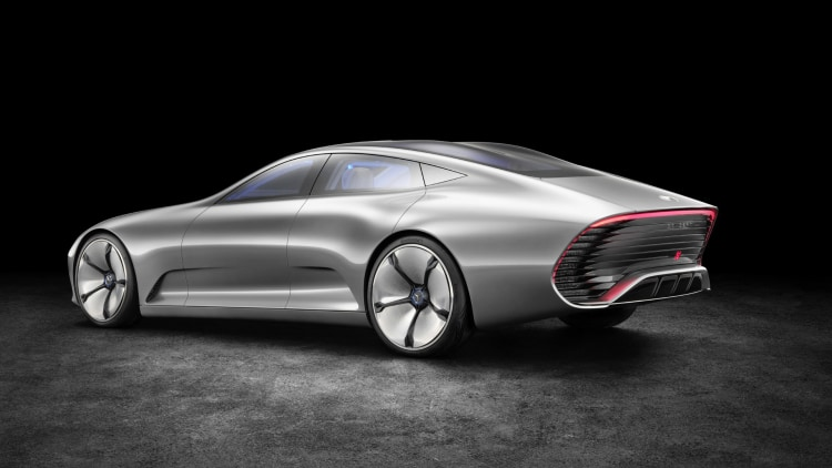 Mercedes benz concept iaa is a modern silver aero autoblog for Mercedes benz credit