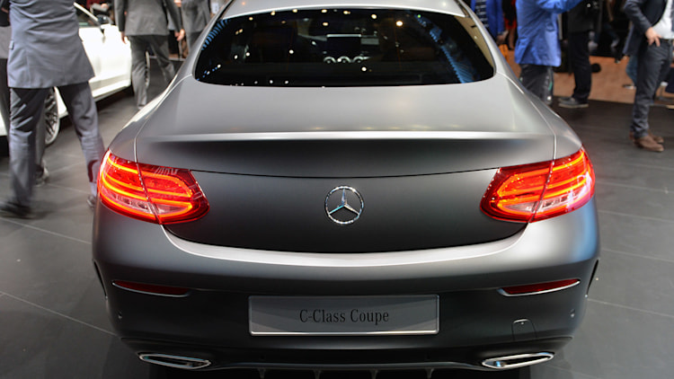 2016 Mercedes C-Class Coupe offers S-Class style on a budget ...