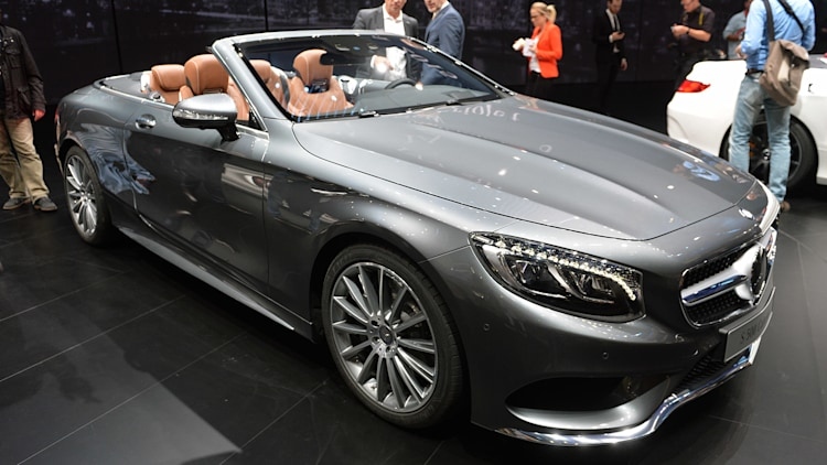 2016 mercedes s class cabriolet airs out the good life autoblog. Black Bedroom Furniture Sets. Home Design Ideas