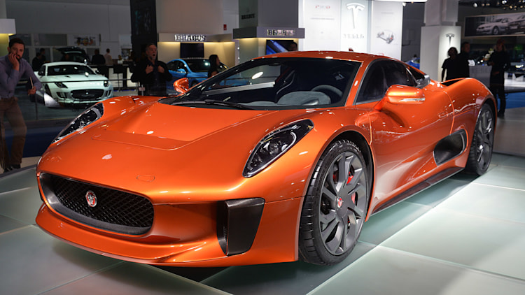 Jaguar C-X75 Spectre Movie Car: Frankfurt 2015 Photo ...