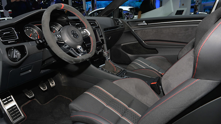 Golf 7 gti interior night