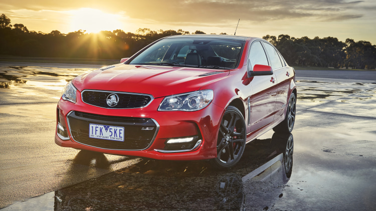 Holden Commodore VFII front 3/4