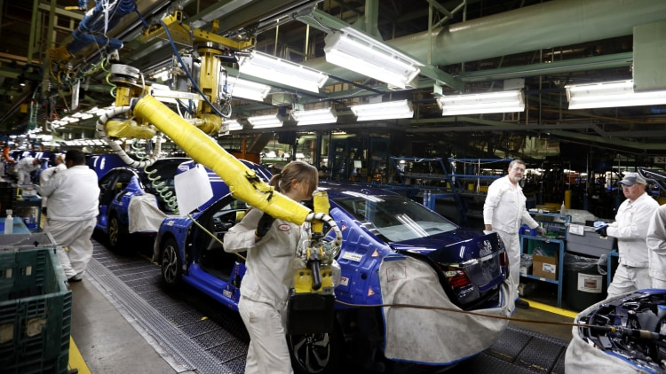 Honda finds new green path to reduce co2 emissions autoblog for Honda marysville oh