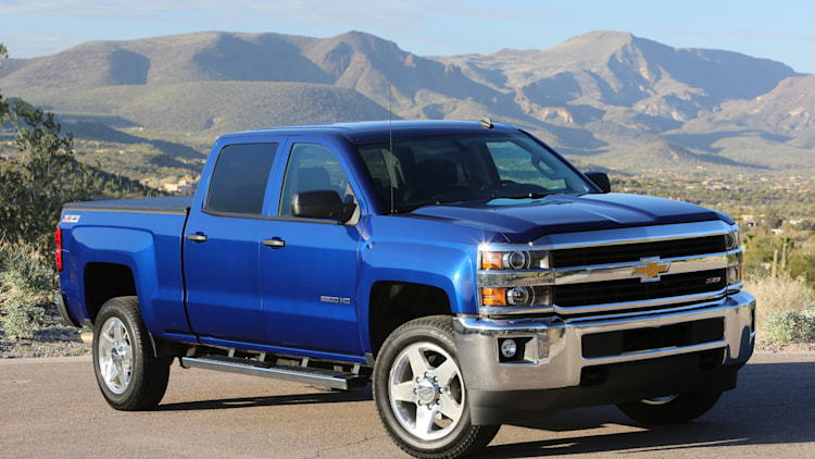 2016 chevy silverado hd photo gallery autoblog. Black Bedroom Furniture Sets. Home Design Ideas