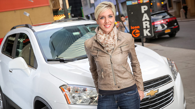 GM's Let's Drive NYC carsharing program promotional images
