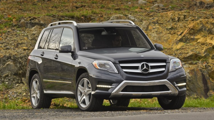 Mercedes-Benz GLK gray front