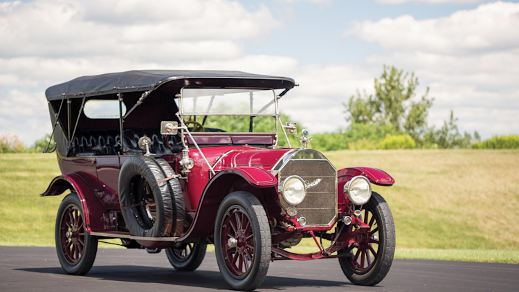 1913 Pierce-Arrow Model 66-A Seven-Passenger Touring