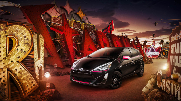prius toyota sign persona series special edition