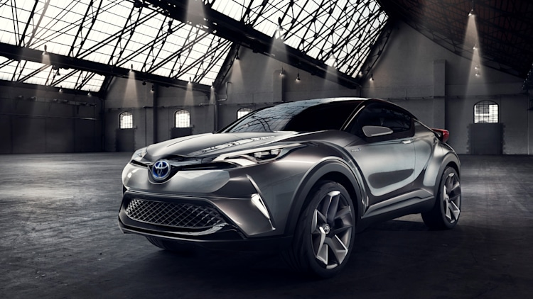 toyota confirms c hr crossover to debut at geneva autoblog. Black Bedroom Furniture Sets. Home Design Ideas
