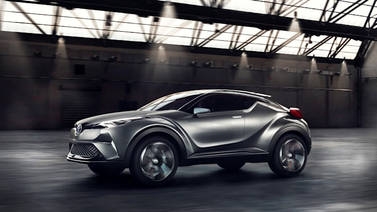toyota confirms c hr crossover to debut at geneva autoblog