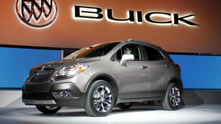 Number 7: Buick
