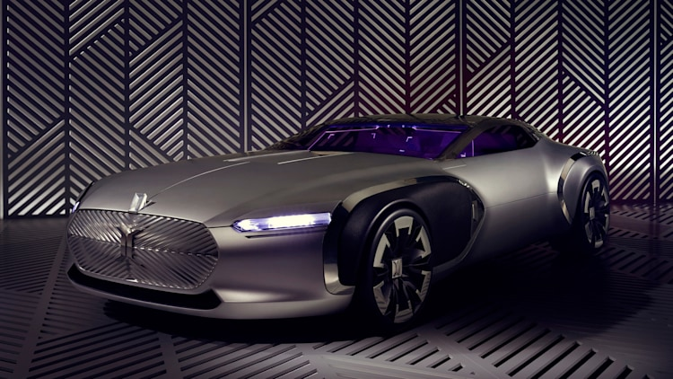 renault coupe corbusier concept front three quarters