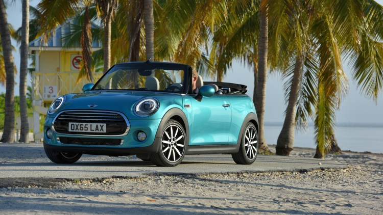 2016 Mini Convertible puts the tanning salon on wheels - Autoblog