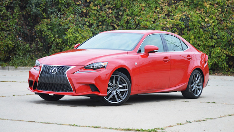 Lexus is 200t red front wide