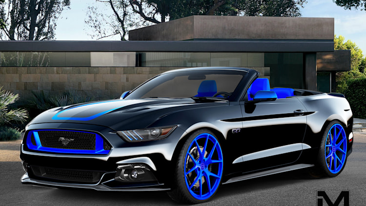 ford previews custom mustangs for sema autoblog
