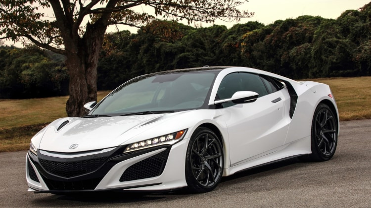 NSX, S660, and a 4-motor CR-Z EV that goes like hell ...