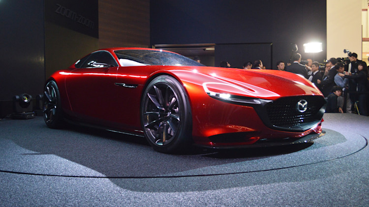 mazda rx-vision concept front