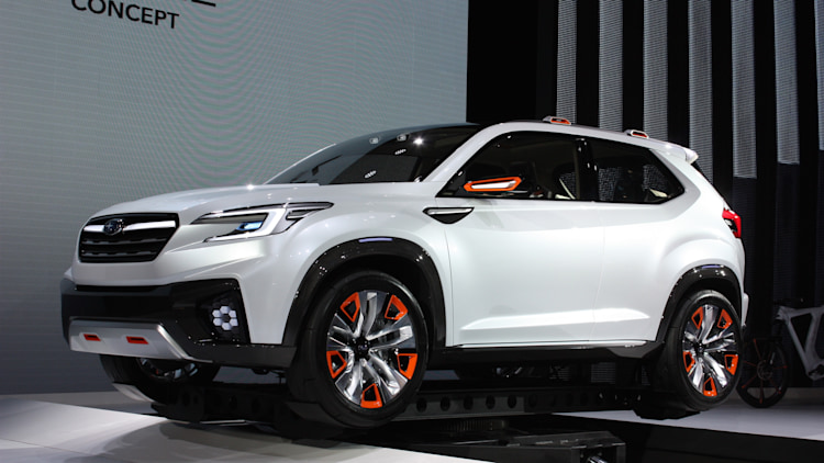 Subaru Viziv Future Concept conceptualizes the future ...