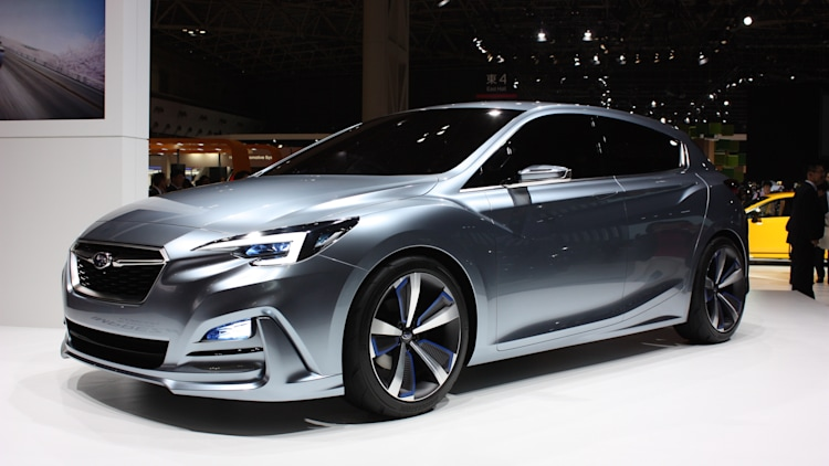 New Subaru Impreza coming for 2017, previewed by this concept ...