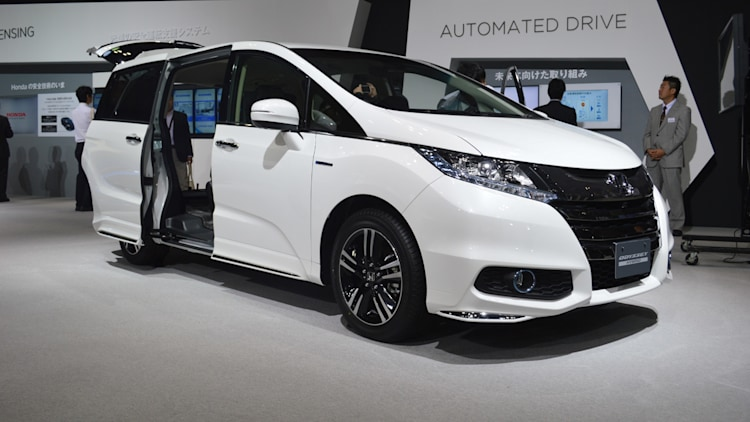 honda odyssey hybrid greens up your minivan   autoblog