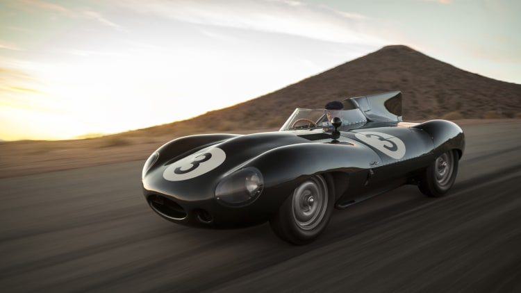 1956 Jaguar D-Type Works Long Nose