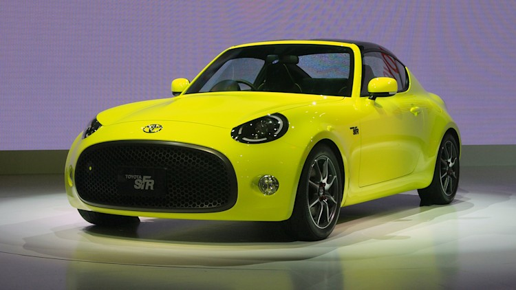 Toyota S-FR Concept front 3/4