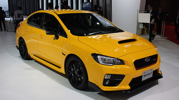 Subaru WRX STI S207 limited to 400 units in Japan only - Autoblog