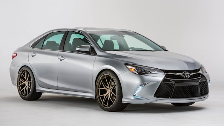 Toyota Camry TRD SEMA Concept front 3/4
